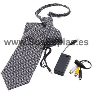 Pinganillo con Camara corbata