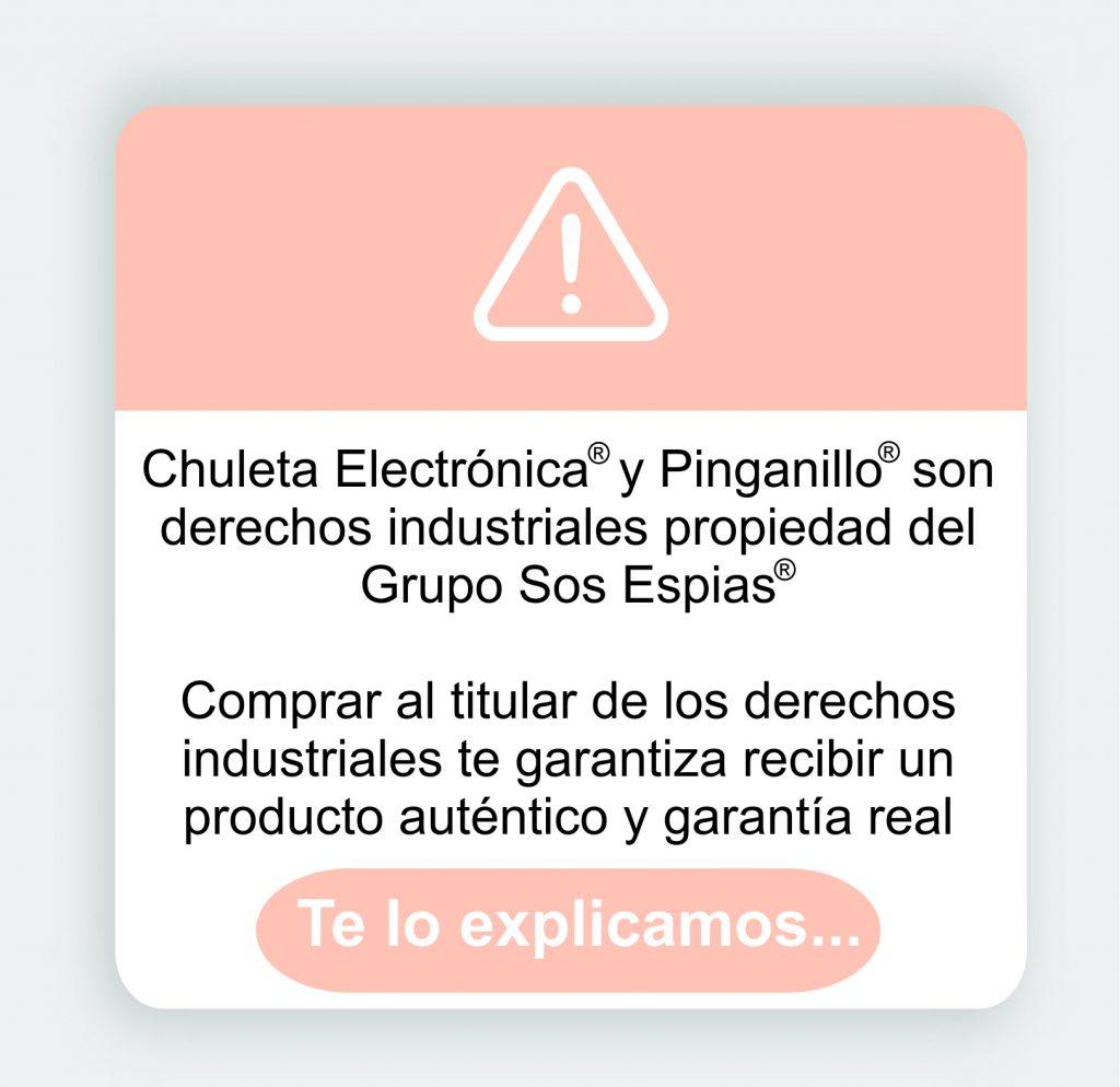 Aviso legal Chuletas Electrónicas