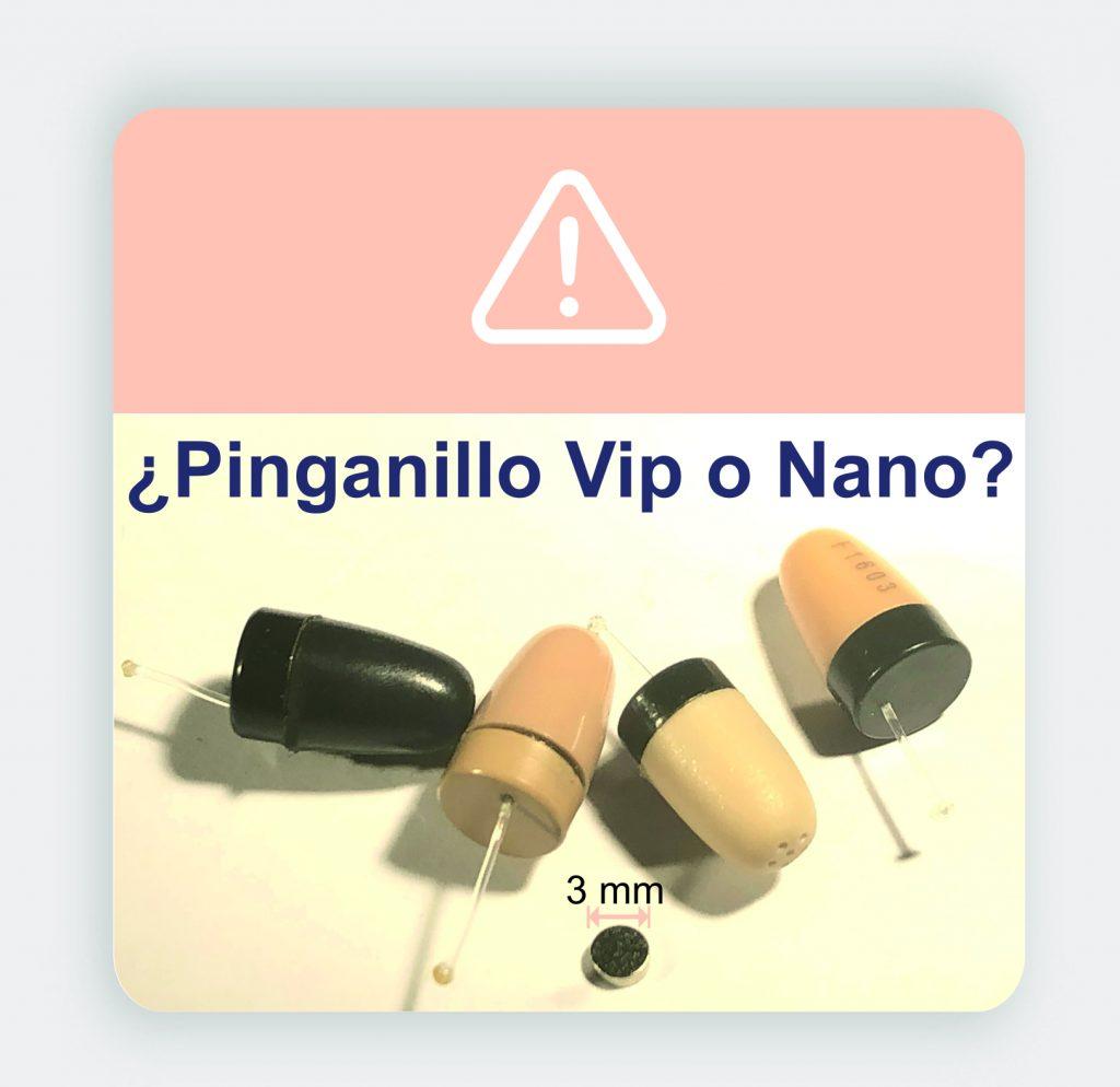 Comparacion Pinganillo Vip VS Pinganillo Nano